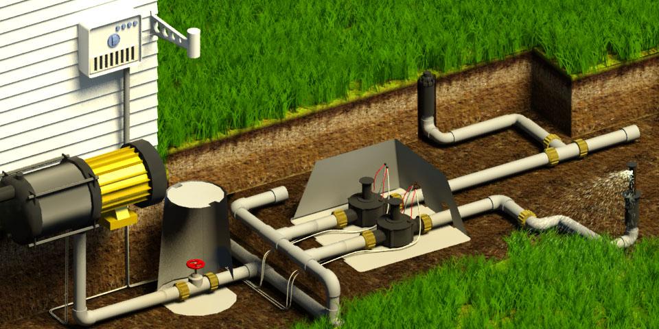 Механизм работы системы автоматического полива