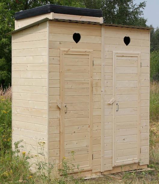 Дачный душ и туалет фото